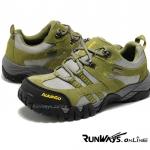 รองเท้ากันน้ำ เดินป่า รุ่น Explore - สีเทา - เขียว