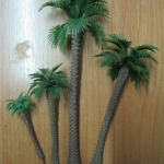 ต้นปาล์ม คละแบบ แพ็ค 4 ขนาด สูงสุด 14 ซ.ม.