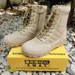 รองเท้า Original S.W.A.T. - ข้อยาว สีทราย