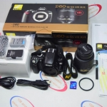 (Sold out)Nikon D60 + เลนส์คิท 18-55 mm