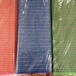 เสื่อพลาสติกถวายวัด แบบคู๋ (พับ) ขนาดกว้าง 180cm.xยาว 10 เมตร