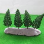 ต้นสน สีเขียวเข้ม 20 ต้น ขนาด 7.8 ซ.ม.