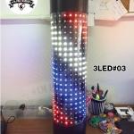 ไฟหมุน บาร์เบอร์ LED 3LED#03 ขนาด 60 cm.
