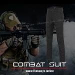 กางเกงคอมแบท ดำ : Combat Black