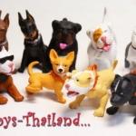 โมเดลสุนัขจิ๋ว Hood Hound Series - 1 ครบชุด 12 ตัว