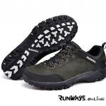 รองเท้ากันน้ำรุ่น เดินป่า Field - สีดำ