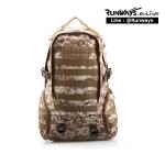 กระเป๋าเป้ทหารลายพราง 35L RW-05 : สีดิจิตอลทราย