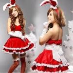 บันนี่ของซานต้า 3สี ดำ แดง ชมพูอ่อน
