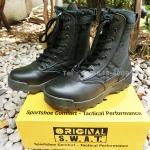รองเท้า Original S.W.A.T. - ข้อยาว สีดำ