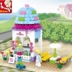 Pink Ice Cream Shop 205 ชิ้น (Sluban)