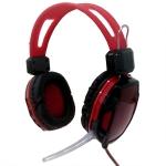 หูฟัง A6 สีแดง