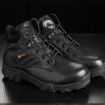 รองเท้า Delta ข้อสั้นสุดเท่ : สีดำ
