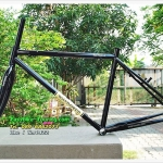เฟรมทัวริ่งพันธ์แท้ WINDSPEED Long Rider II / สีดำ