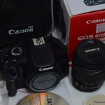 (Sold out)Canon EOS 600D+Lens 18-55