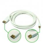 Mini DisplayPort to DisplayPort Adapter Cable 1.8M