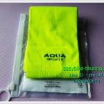 ปลอกแขน AQUA-X / สีเขียวนีออน / Made in Korea
