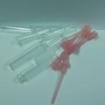 ขวดน้ำหอมขนาดเล็กจุกสีชมพู ขวดเทสเตอร์ 1 ml 100 ชิ้น/แพ็ค