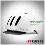 หมวกจักยาน Giro แนววินเทจ / สีขาว