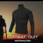 เสื้อคอมแบท ดำ: Combat Black