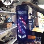 ไฟหมุน บาร์เบอร์ LED 3LED#01 ขนาด 60 cm. (กันน้ำ)