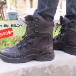 รองเท้า Magnum BY ESDY ข้อยาว : ดำ