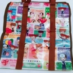 กระเป๋าการ์ตูน ทรงสูง ขนาด 38*35*19 cm. ราคาส่ง 35 บาท (2โหล)
