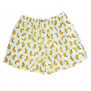 กางเกงบ๊อกเซอร์ผู้ชายลายกล้วยหอม