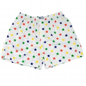 กางเกงบ๊อกเซอร์ผู้ชาย ลายดาวหลากสี