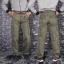 กางเกงคาร์โก้ Cargo Pants - สีเขียวเข้ม thumbnail 2