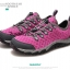 รองเท้าเล่นน้ำ เดินป่า ลุยน้ำ Octopus - สีม่วง ชมพู thumbnail 2