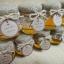 น้ำผึ้งในขวดแก้ว หุ้มผ้ากระสอบ สไตล์ Rustic Wedding thumbnail 1