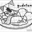 ภาพระบายสี จิ๊กซอว์แบบแผ่น มีถาดรอง 54 ชิ้น พร้อมถาดรอง Sanrio Gudetama ซานริโอ้ กูเดทามะ ไข่ขึ้เกียจ thumbnail 1
