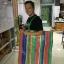 ผ้ากระสอบพลาสติก ผ้าฟาง ลายริ้ว 4สี ลายธงชาติ สายรุ้ง (72 สี่สีเคลือบ) หลาละ 25 บาท thumbnail 8