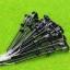 เสาโคมไฟ สีดำ สเกล 1:75 - 1:120 ขนาด 12 VDC 10 ต้น thumbnail 1