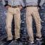 กางเกงคาร์โก้ Cargo Pants - สีกากี thumbnail 2