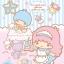 จิ๊กซอว์ ซานริโอ้ กีกี ลาล่า ลิตเติล ทวิน สตาร์ Jigsaw Puzzle Sanrio Little Twin Stars 108 ชิ้น thumbnail 2