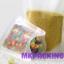 ถุงพลาสติกขุ่น ซิปล็อค ตั้งได้ ขนาด 18x26 + 4cm thumbnail 3