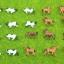 สเกล 1:160 วัว + ม้า คละแบบ 10 ตัว thumbnail 1