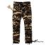 กางเกงคาร์โก้ Cargo Pants - ลายพรางน้ำตาล CP3 thumbnail 1