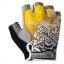 ถุงมือครึ่งนิ้ว HANDCREW สีเหลือง