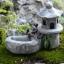 อ่างน้ำสวนญี่ปุ่น สีเทา thumbnail 1