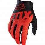 ถุงมือเต็มนิ้ว FOX สีดำ-แดง