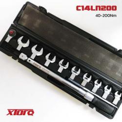 ประแจปอนด์ปากตาย เปลี่ยนหัว 40-200Nm. C14LN200 XTORQ