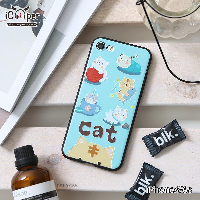 3D Case - Five Cat (iPhone6/6s)