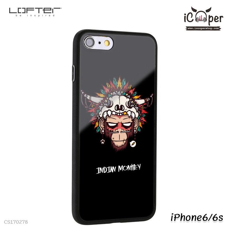 LOFTER Cartoon Mirror - Indian Monkey (iPhone6+/6s+)