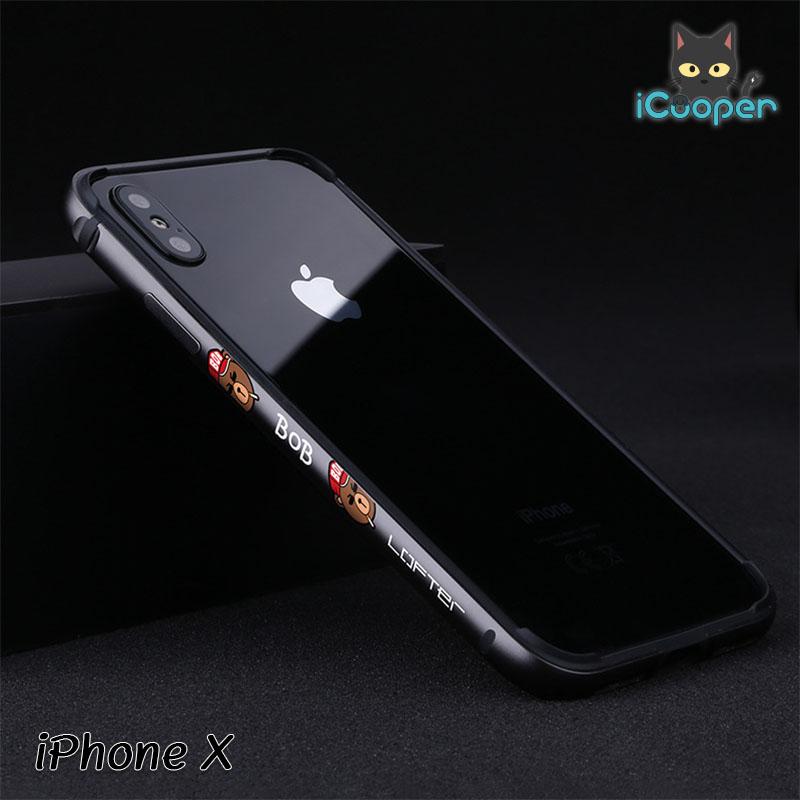 LOFTER Aluminium Bumper - BOB Black (iPhoneX)