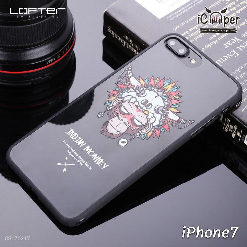 LOFTER Cartoon Mirror - Indian Monkey (iPhone7)
