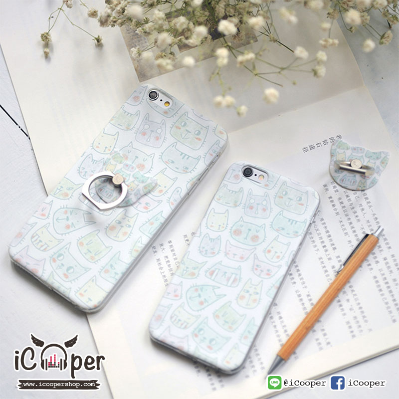 MAOXIN Seven Case Cute Cats (iPhone6/6s)