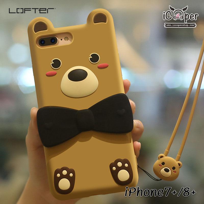 LOFTER Love Bear - Light Brown (iPhone7+/8+)