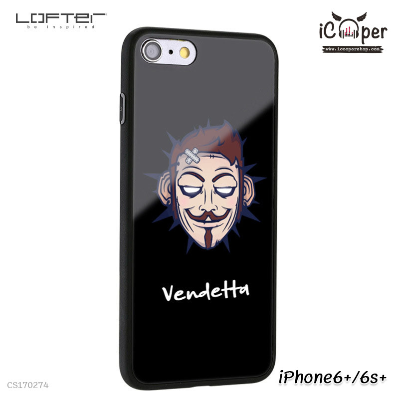 LOFTER Cartoon Mirror - Vendetta (iPhone6+/6s+)